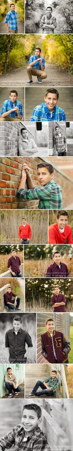 great example of multiple outfits -- senior boy session, southeast michigan photographer,