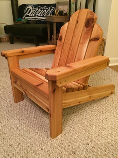 Jmx brands youtube holz pinterest mini adirondack chair do it yourself home projects from ana white solutioingenieria Choice Image