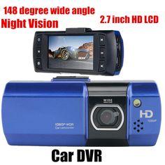 new car DVR Full HD 2.7 inch Car Mini DVR Camera Video Recorder Parking Night Vision 148 degree wide angle