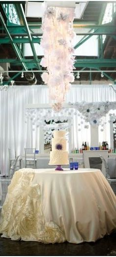 Wedding ● Cake Table  # white wedding ... Wedding ideas for brides, grooms, parents & planners ... https://itunes.apple.com/us/app/the-gold-wedding-planner/id498112599?ls=1=8 … plus how to organise an entire wedding ♥ The Gold Wedding Planner iPhone App ♥