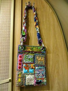 Thank you to SheepBlue, Kjlutz, et. al. for my new Teesha Moore Hobby!!! - PURSES, BAGS, WALLETS -LOVE LOVE LOVE this bag!!! The zippers, carabiner, & ant at the bottom