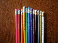 Pick-a-Pencil, Engraved 12 Pack by ESPG