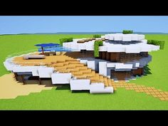 MINECRAFT TUTO MAISON MODERNE ORIGINALE ! :) - YouTube