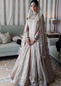 Bridal, indian wear, pakistani bridal lehenga, pakistani wedding dresses, i Pakistani Bridal Lehenga, Pakistani Wedding Dresses, White Wedding Dresses, Indian Dresses, Indian Outfits, Lehenga Choli, Anarkali, Wedding Lehnga, Bollywood Lehenga