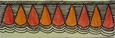 CrazyLassi's Madhubani Art Practice and Research Blog: 46 Madhubani Border Designs