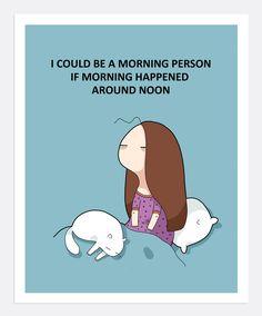 Morning Person Print 4 | Lingvistov