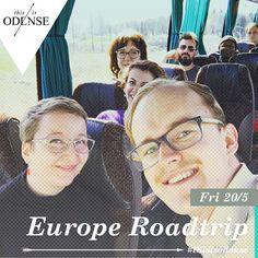 Litterært roadtrip Hvordan lyder Europa? Læs anbefalingen på: www.thisisodense.dk/2187