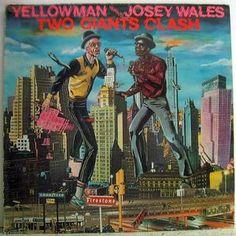 Yellowman Versus Josey Wales – Two Giants Clash - Greensleeves records - 1984