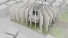 Daegu Gosan Public Library Competition Entry / Ghirardelli Architetti,model 03