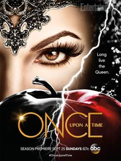 Long live the Queen! That's what is declared on the new Once Upon a Time poster for Comic-Con, with the Evil Queen (Lana Parrilla) featured...
