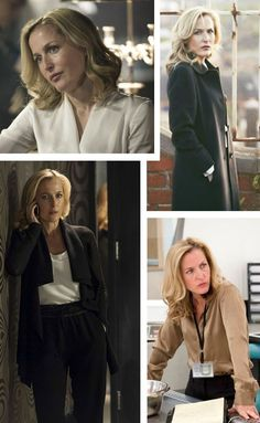 Seek style inspiration from TV's most epic power dressers, from House of Cards' Claire Underwood to the Good Wife's Alicia Florrick and Scandal's Olivia Pope. Work Fashion, Fashion Beauty, Fashion Outfits, Fashion Trends, Workwear Fashion, Gillian Anderson The Fall, Power Dressing Women, Claire Underwood Style, Stella Gibson