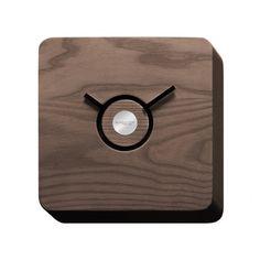 Trattoria Wall Clock, Tobacco/Ash, Bugatti
