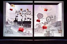 """Made With Love"" at Harrods London,pinned by Ton van der Veer"