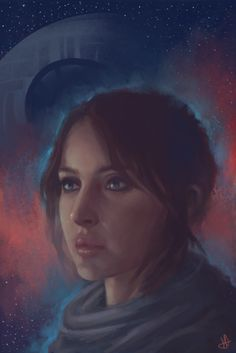 Jyn Erso - Rogue One, Sammy Hancock on ArtStation at https://www.artstation.com/artwork/w528Z