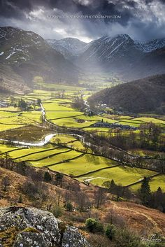 Borrowdale, Lake District - Lake District & Cumbria England                                                                                                                                                      Mehr