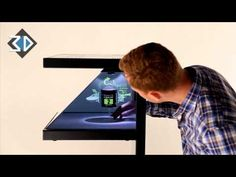 3 Sided Holographic Displays - YouTube