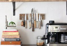 Knivholder | DIY væghængt holder til køkkenknive | Boligmagasinet.dk