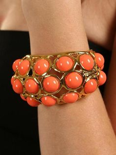 Coral Jewelry On Celebs   Trend Alert: Coral Jewelry