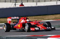 Sebastian Vettel @ Pre Season Testing in Barcelona