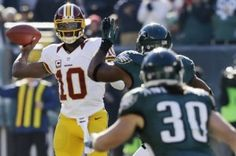The Philadelphia Eagles will reportedly face a healthy and recovered Robert Griffin III during their season opener at FedEx Field.