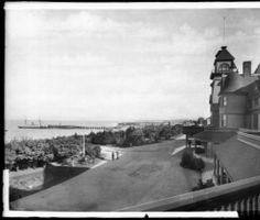 1890's Redondo Beach Hotel and Pier.