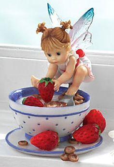 My Little Kitchen Fairies-	Cereal with Strawberries