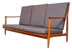 1970's Teak Sofa