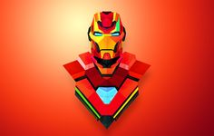 Iron Man by Justin Maller #Helmetica