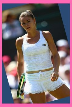 Hottest photos of tennis star Camila Giorgi in 2016 Camila Giorgi, Mode Tennis, Sport Tennis, Play Tennis, Belle Nana, Foto Sport, Beautiful Athletes, Tennis Players Female, Tennis Fashion