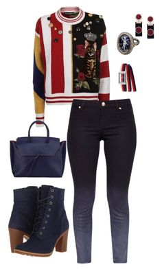 """""""Ugly Christmas sweater fashion Inspiration"""" by moniqueseyecandy on Polyvore featuring Timberland, Dolce&Gabbana, Ted Baker, Alexandra de Curtis and Gucci"""