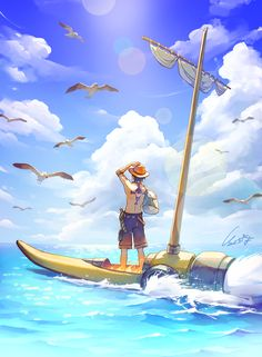 [Ace] One piece One Piece Anime, One Piece エース, One Piece Drawing, One Piece World, One Piece Fanart, One Piece Luffy, Anime In, Art Anime, Anime Guys