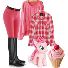 """cupcakes.n.my.little.pony.at.the.stables"" by twosisterzcreationz on Polyvore"