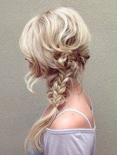 Messy braids: a summertime staple!
