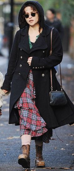 Keeping it in check: From Victoria Beckham to Tulisa, everyone's gone tartan mad