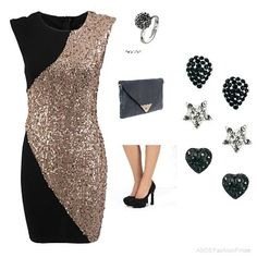 Christmas sparkle  | Women's Outfit | ASOS Fashion Finder