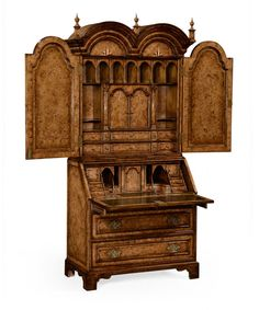Chippendale Style Mahogany Writing Desk With Hidden