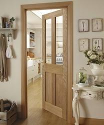 Burford 4 Panel Oak Glazed | Internal Hardwood Doors | Doors & Joinery | Howdens Joinery