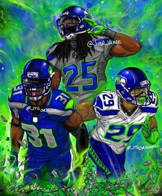 Football Fever, Nfl Football Teams, Football Cards, Football Helmets, Seahawks Football, Seattle Seahawks, Mariners Baseball, Football Wallpaper, Gesture Drawing