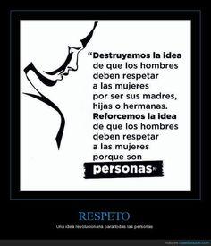 RESPETO - Una idea revolucionaria para todas las personas
