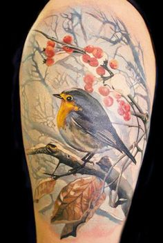Realism Animal Tattoo by Gunnar V Tattoo?