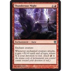 Thunderous Might (foil)