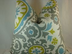 Suzani Summerland Decorative Pillow 20x20 Pi