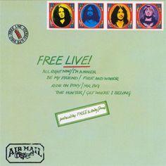 Free Live! Album Cover