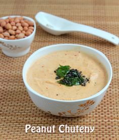 Peanut Chutney with Indian Spices