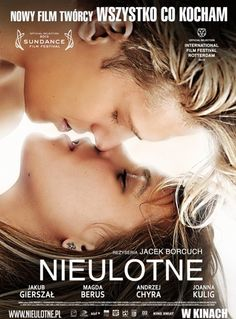 "Jakub Gierszal stars in a film called ""Nieulotne""/ ""Lasting"". I'm so curious at what could this film be about. They say this isn't your average love story.  I'm such a foreign film fan(as long as they're translated in english!)"