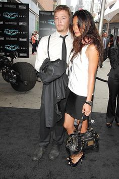 Image result for norman reedus and jarah mariano   jarah ...