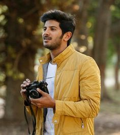 Dulquer Salmaan is an Indian film actor who appears predominantly in Malayalam and Tamil films, younger son of actor Mammootty and Sulfath.