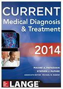 ISBN: 978-0-07-180633-6  Titulo: CURRENT Medical Diagnosis & Treatment 2014  http://accessmedicine.mhmedical.com/book.aspx?bookid=330