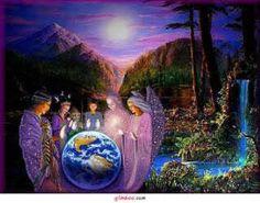all for Vibrar Luz ao Planeta Terra Reiki Angelico, Prayers Of Gratitude, Sleeping Women, Josephine Wall, Beautiful Prayers, Native American Artists, Angels Among Us, Mystique, New Earth