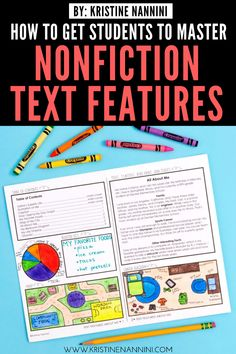 Freebies to Help Students Master Nonfiction Text Features Sixth Grade Reading, 7th Grade Ela, Nonfiction Text Features, Reading Activities, Upper Elementary, Anchor Charts, Teaching Tips, Student Teaching, Free Downloads